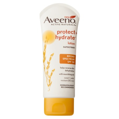 $8.99 at Target I chose this for my face because Aveeno is usually easy on sensitive skin, as the summer progresses my SPF gets higher.